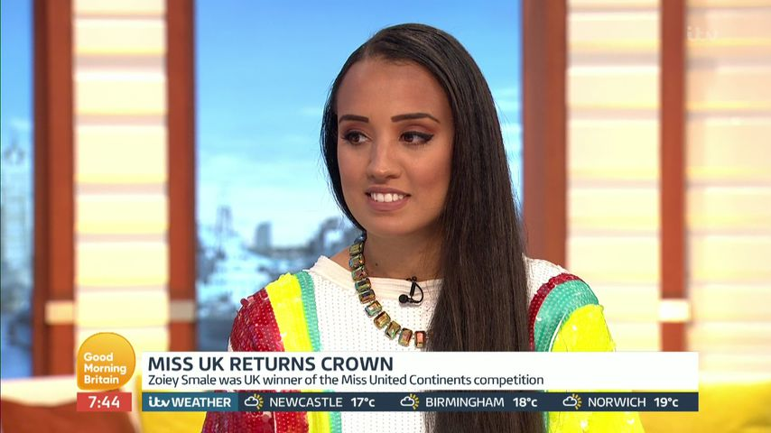 """Zoiey Smale bei """"Good Morning Britain"""""""