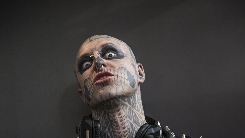 Zombie Boy, Tattoo-Model