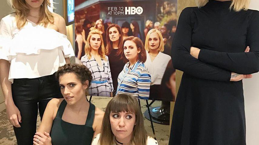 Zosia Mamet, Allison Williams, Lena Dunham und Jemima Kirke