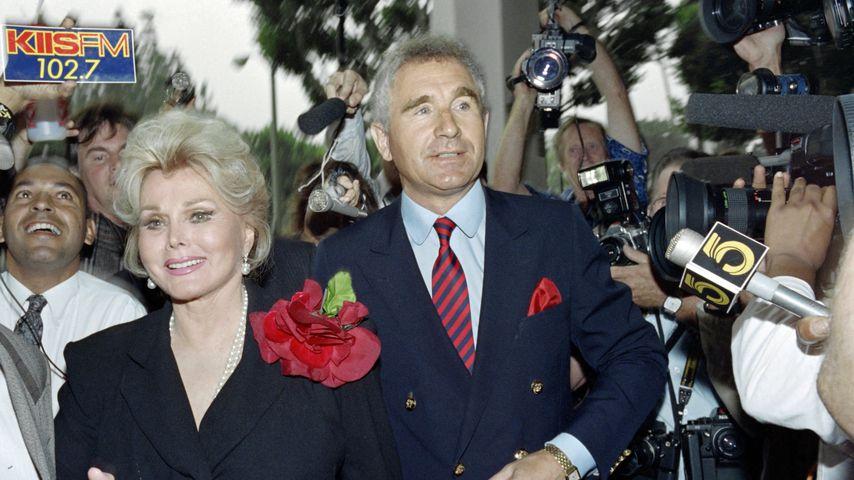 Zsa Zsa Gabor und Frédéric von Anhalt, 1989