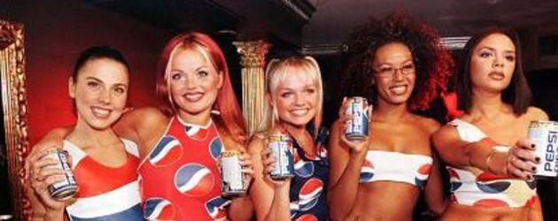 Die Spice Girls in den Neunzigerjahren