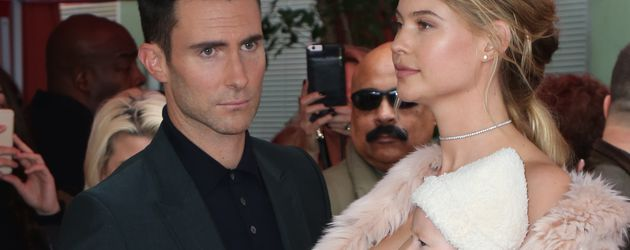 Adam Levine, Behati Prinsloo und Tochter Dusty Rose