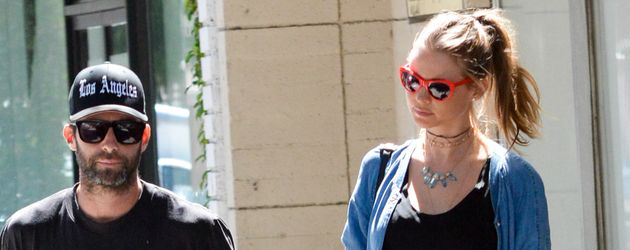 Adam Levine und Behati Prinsloo in L.A.