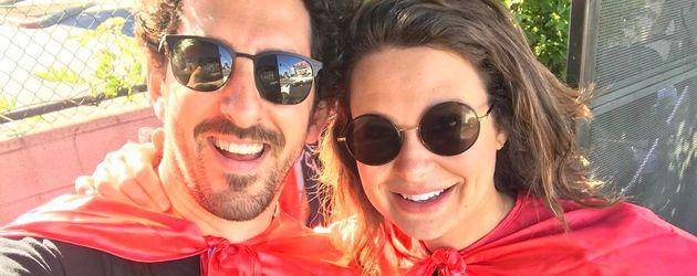 Adam Shapiro und Katie Lowes