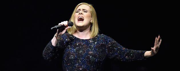 Adele Adkins beim Konzert in LA 2016