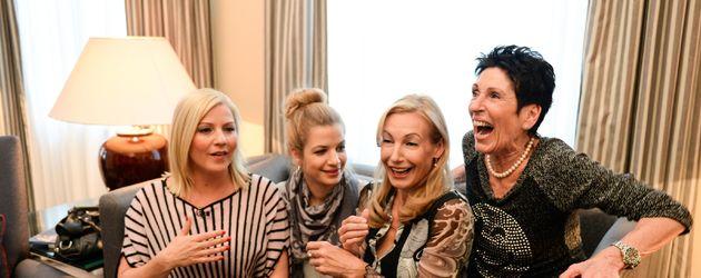 Susan Sideropoulos, Erika Berger, Ute Lemper und Aleksandra Bechtel