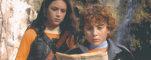 "Alexa Vega und Daryl Sabara in ""Spy Kids"""