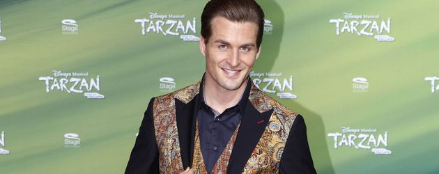 "Alexander Klaws bei der ""Tarzan""-Musicalpremiere in Oberhausen"
