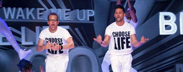 "Alexander Kumptner (r.) und Mario Kotaska bei ""Dance Dance Dance"""