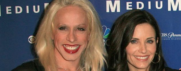 Alexis Arquette und Courteney Cox in LA