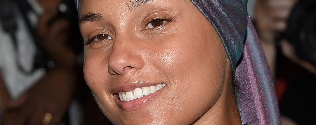 Alicia Keys bei der New York Fashion Week