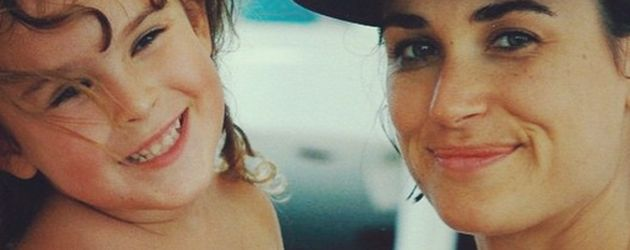 Rumer Willis und Demi Moore