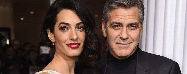 """Amal und George Clooney bei der """"Hail, Caesar!""""-Premiere in Los Angeles"""