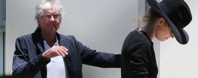 Amber Heard verlässt das Haus des Psychologen Dr. Connell Cowan