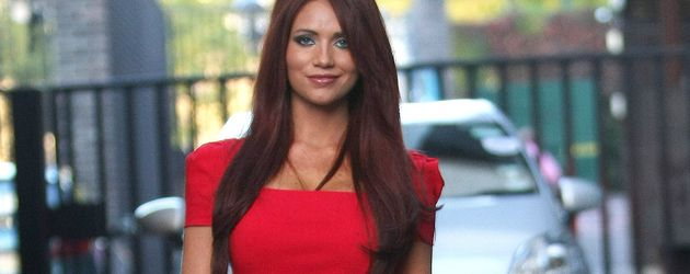 Model Amy Childs in London, 2011