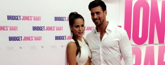 """Angelina Heger & Leonard Freier auf der Premiere von """"Bridget Jones's Baby"""" in Berlin"""