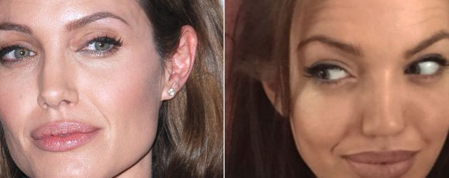 Angelina Jolie und Chelsea Marr