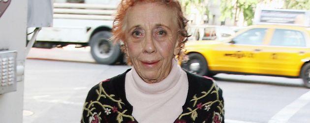 Ann Morgen Guilbert auf dem Weg zum Filmset in New York