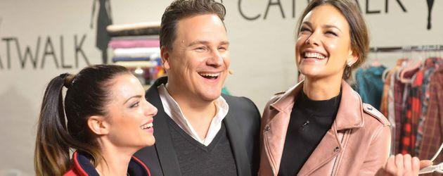 Anne Menden, Guido Maria Kretschmer und Janina Uhse