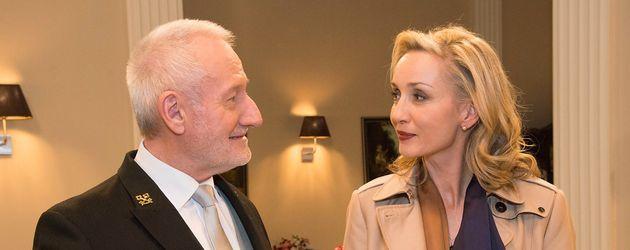 Sepp Schauer und Isabella Hübner