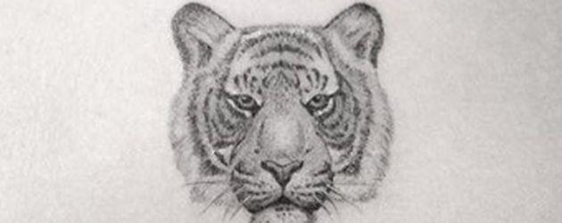Das neue Tiger-Tattoo von Ariel Winter