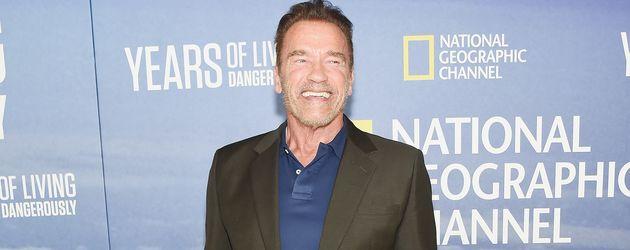 Arnold Schwarzenegger im September 2016 in New York