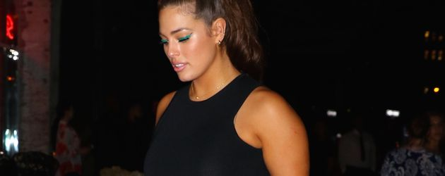 Ashley Graham im MeatPacking District in New York