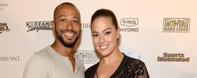 Model Ashley Graham und Justin Ervin