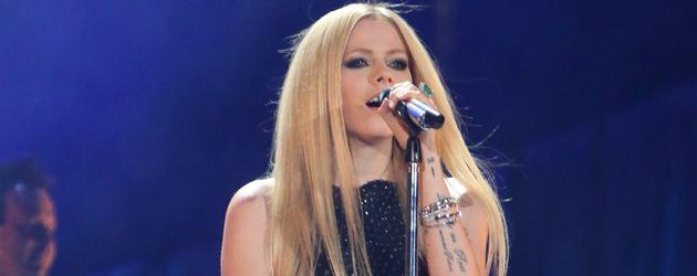 Avril Lavigne bei einem Konzert