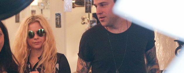 Avril Lavigne und Ryan Cabrera