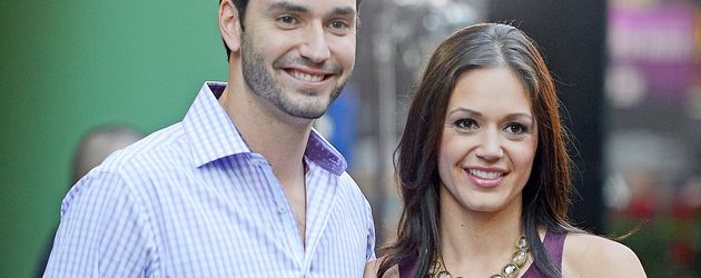 """Bachelorette"" Desiree Hartsock Chris Siegfried bei ""Good Morning America"""