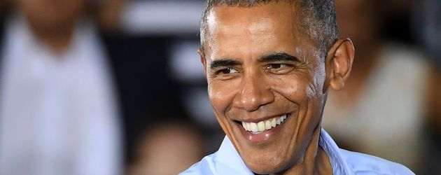 Barack Obama beim Wahlkampf für Hillary Clinton