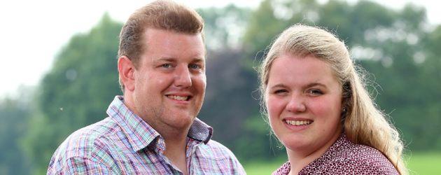 Bauer Klaus und Kandidatin Conny