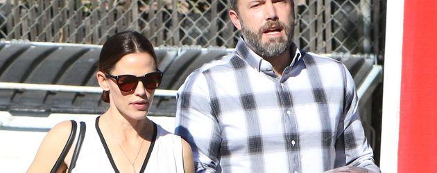 Jennifer Garner und Ben Affleck auf dem Weg zum Gottesdienst