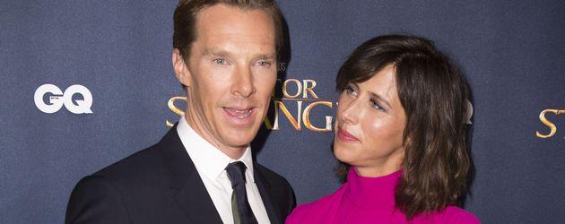 """Benedict Cumberbatch und Sophie Hunter beim Red Carpet Launch von """"Doctor Strange"""""""