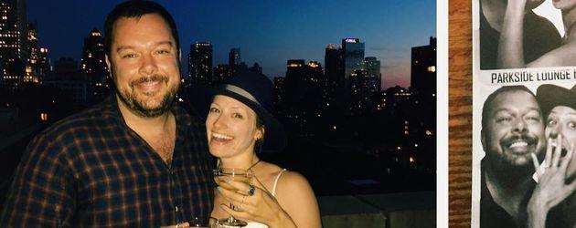 Beth Behrs und Michael Gladis