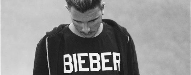 Kevin Ramirez mit Justin-Bieber-Shirt
