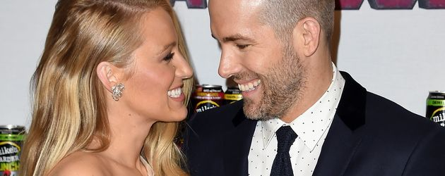 Blake Lively und Ryan Reynolds in New York