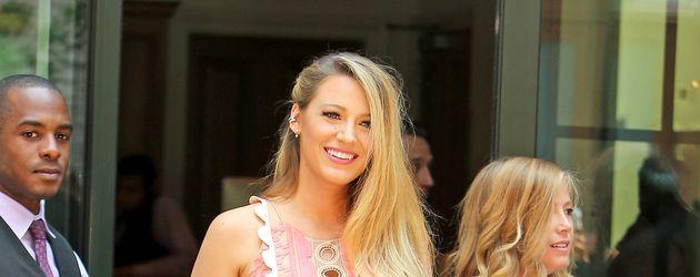 Blake Lively hochschwanger mit ihrem zweiten Kind in New York