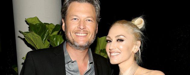 Blake Shelton und Gwen Stefani auf einer Preisverleihung