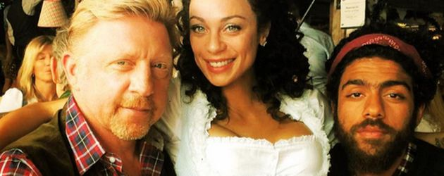 Lilly Becker, Boris Becker und Noah Becker