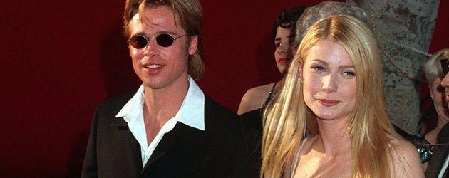 Brad Pitt und Gwyneth Paltrow bei der Oscar-Verleihung 1996