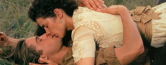 """Brad Pitt und Julia Ormond im Film """"Legenden der Leidenschaft"""" (1994)"""
