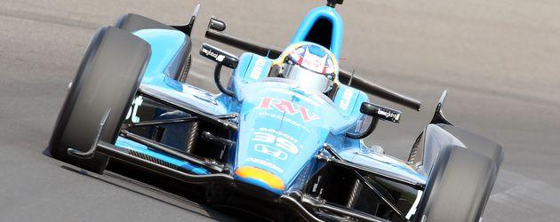 Bryan Clauson in seinem Wagen beim Indianapolis Motor Speedway im Mai 2012