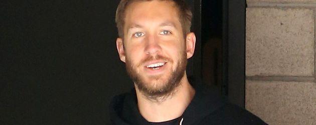 Calvin Harris beim Verlassen seines Fitnessstudios in L.A.