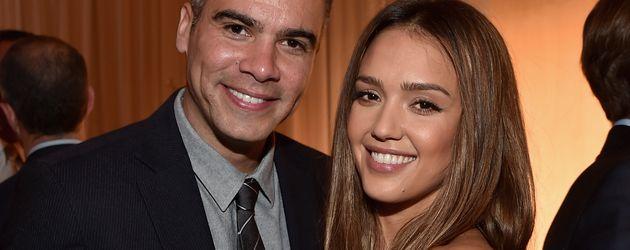 Jessica Alba und Ehemann Cash Warren in Beverly Hills, 2015