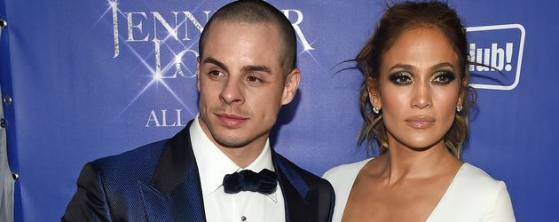 Casper Smart und Jennifer Lopez in Las Vegas