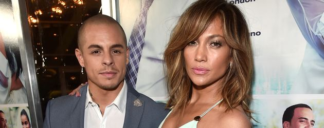 "Casper Smart und Jennifer Lopez bei der ""The Perfect Match""-Premiere 2016 in Hollywood"