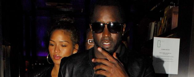 Cassie und P. Diddy in Los Angeles
