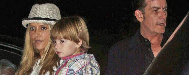 Charlie Sheen und Brooke Mueller